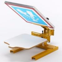 HAND PRINTING TABLE - 1 COLOUR