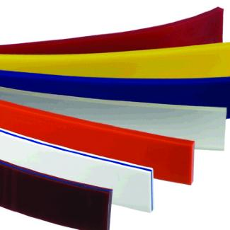 screen print rubber squeegees