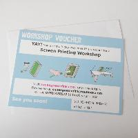 LEARN TO SCREEN PRINT 1 TO 1 VOUCHER