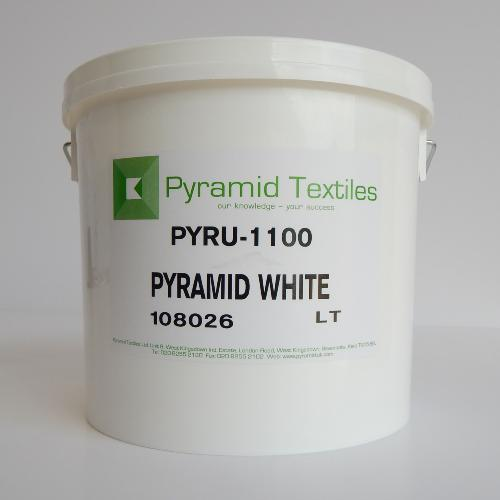 Pyramid White Plastisol Ink