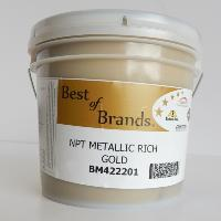 RUTLAND NPT METALLIC RICH GOLD