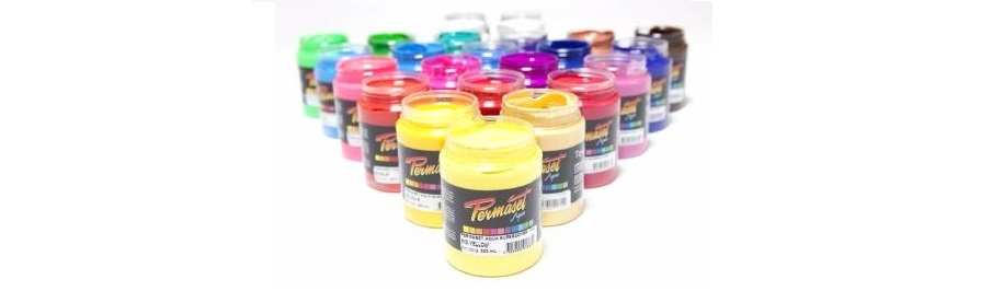 Permaset screen printing inks