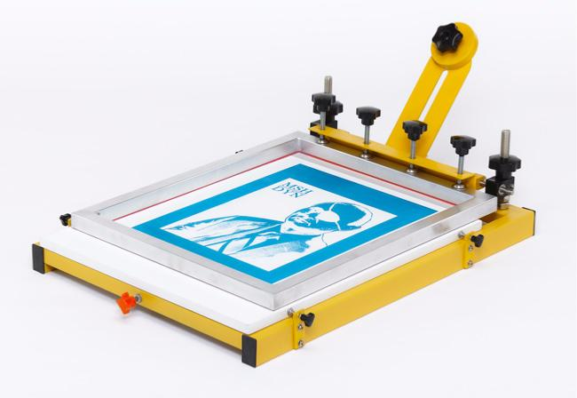 screen printing flat bed table a2