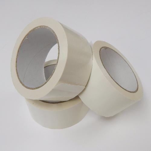 WHITE SCREEN TAPE - 66M LONG X 5CM WIDE