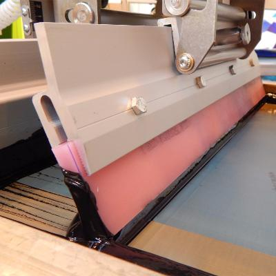 SCREEN PRINTING SQUEEGEE RUBBER & HAND SQUEEGEES
